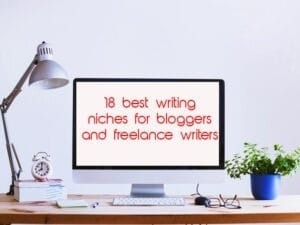 Popular freelance and blog writing niches