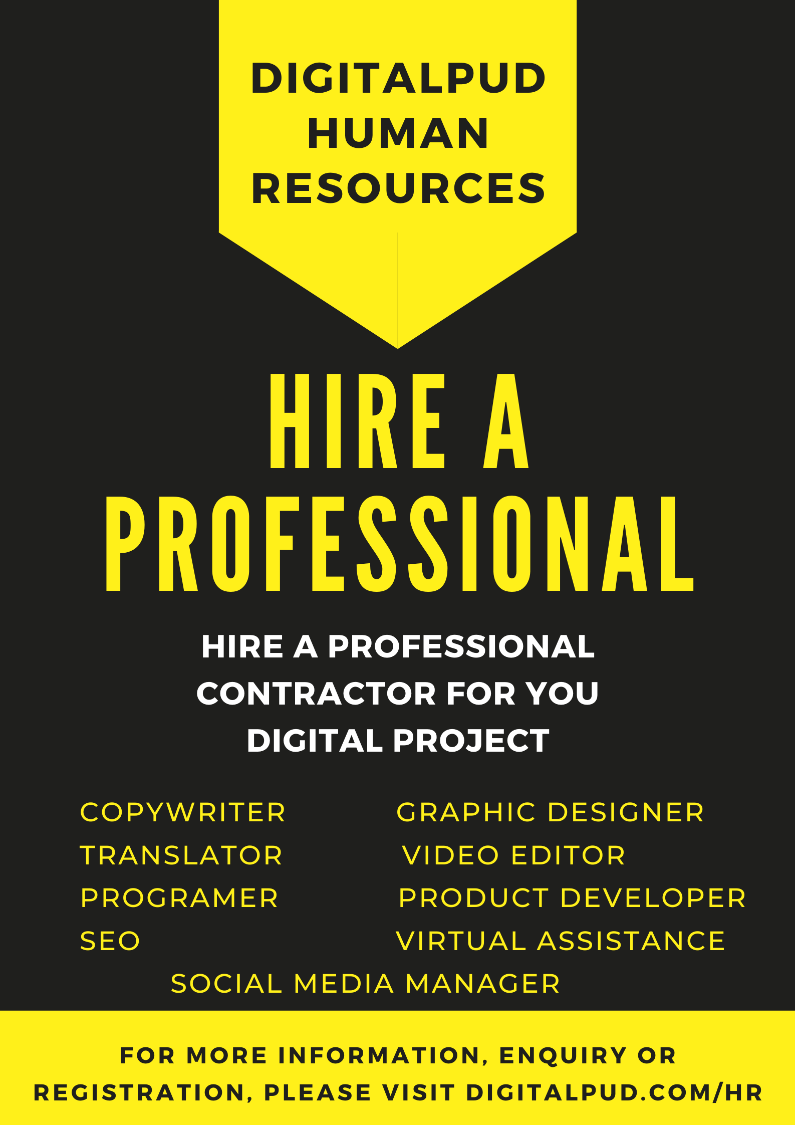 DigitalPud Human Resources
